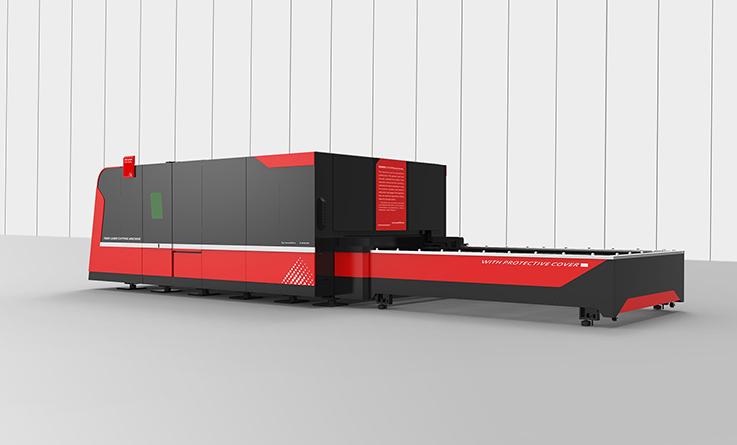 Can a laser cutting machine cut rusty iron plates?