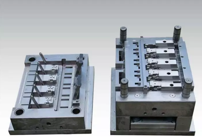 High precision plastic mold processing steps
